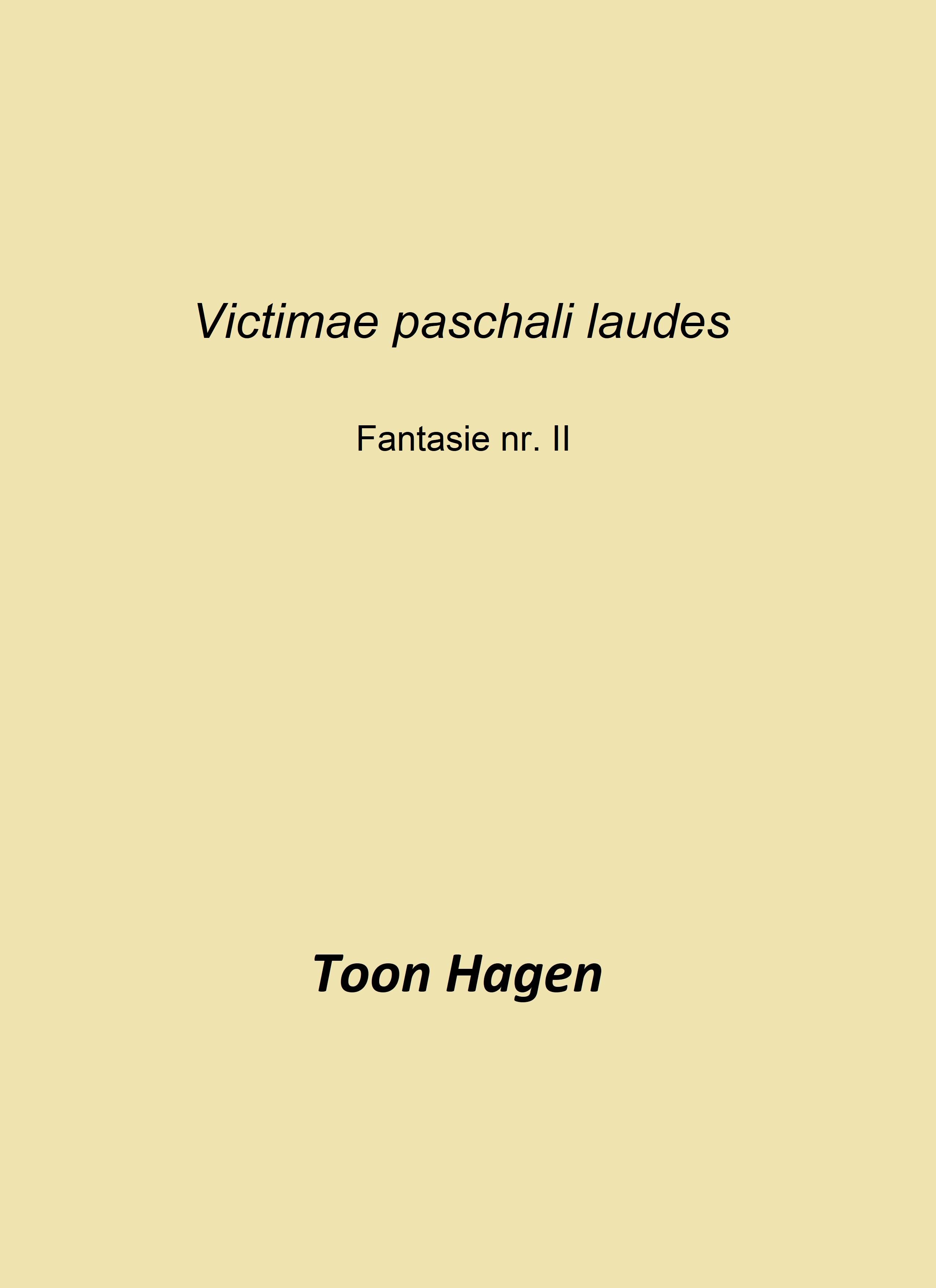 victimae paschali laudes text